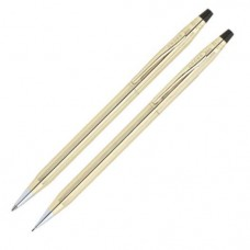 AT Cross Classic Century 10 Karat Gold Filled Ballpoint Pen and 0.5mm Pencil Set