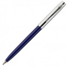 Fisher Space Pen Plastic Barrel Cap-O-Matic Blue, Chrome Cap