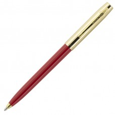 Fisher Space Pen Plastic Barrel Cap-O-Matic Red, Brass Cap