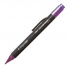 Itoya Doubleheader Calligraphy, Purple 3.0mm and 1.5mm