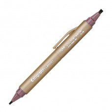 Itoya Doubleheader Calligraphy Classics Marker, Cabernet 3.0mm and 1.5mm