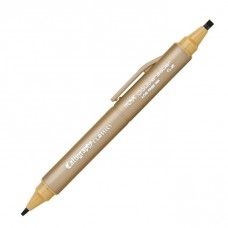 Itoya Doubleheader Calligraphy Classics Marker, Dijon 3.0mm and 1.5mm