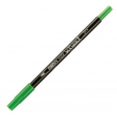 Marvy Le Plume II Double Ended Watercolor Marker, Lt. Green