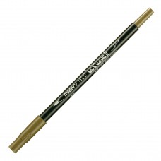 Marvy Le Plume II Double Ended Watercolor Marker, Olive Brown
