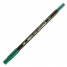 Marvy Le Plume II Double Ended Watercolor Marker, Green