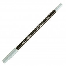Marvy Le Plume II Double Ended Watercolor Marker, Blue Grey