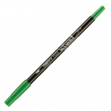 Marvy Le Plume II Double Ended Watercolor Marker, Leaf Green