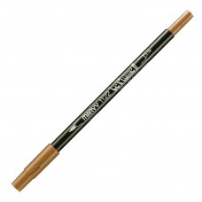 Marvy Le Plume II Double Ended Watercolor Marker, Burnt Umber