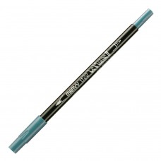 Marvy Le Plume II Double Ended Watercolor Marker, Dull Blue