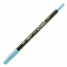 Marvy Le Plume II Double Ended Watercolor Marker, Sky Blue