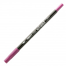Marvy Le Plume II Double Ended Watercolor Marker, Grape