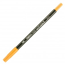 Marvy Le Plume II Double Ended Watercolor Marker, Butterscotch
