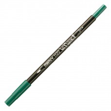 Marvy Le Plume II Double Ended Watercolor Marker, Emerald