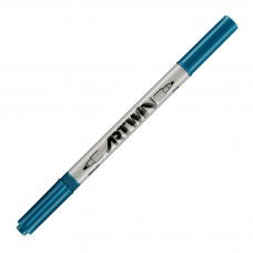 Marvy Artwin Double Ended Marker Light Teal