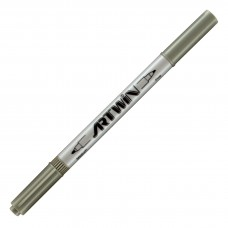 Marvy Artwin Double Ended Marker Ash Grey