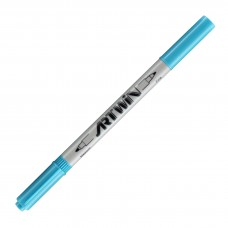 Marvy Artwin Double Ended Marker Pale Blue