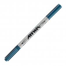 Marvy Artwin Double Ended Marker Dull Blue