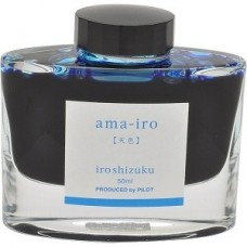 Namiki Iroshizuku Bottled Fountain Pen Ink,  Ama-Iro, Light Blue