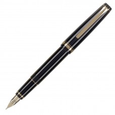 Namiki Falcon Collection, Black, Soft Broad Nib Fountain Pen