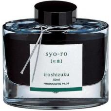 Namiki Iroshizuku Bottled Fountain Pen Ink, Syo-Ro, Dew on the Pine Tree, Light Green