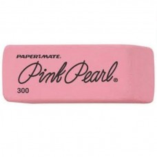 Paper Mate Pink Pearl Rub Eraser, Small 300