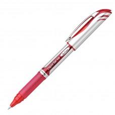 Pentel EnerGel Delux Refillable Liq Med Metal Tip, Red