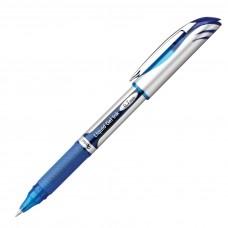 Pentel EnerGel Delux Refillable Liq Med Metal Tip, Blue