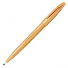 Pentel Sign Pen, Fine Pt Yellow Ochre