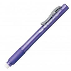 Pentel Clic Eraser Grip Eraser, Violet