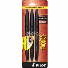 Pilot FriXion Ball Black - 3 Pack
