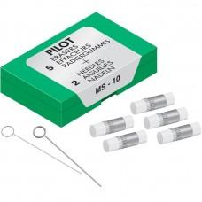 Pilot MS-10 Eraser Refill, Fits all Pilot mechanical pencils except Pencil #2 and Dr. Grip 1+1, 5/pk