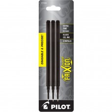 Pilot FriXion Refill, XF Point, Black, 3pk