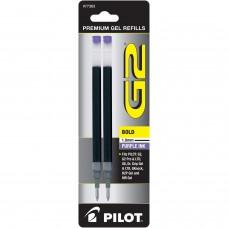 Pilot BG21R G2 Gel Ink Refills, Bold, Purple