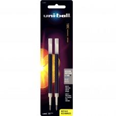 Uni-Ball 207 Gel Pen Refill Med Blue 2cd