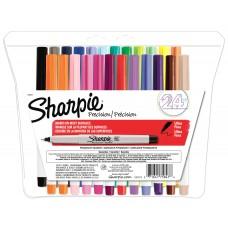 Sharpie Ultra Fine Pt Perm Marker, 24 CLR Set