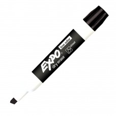 Expo 2 Low Odor Dry Erase Marker, Chisel Tip, Black