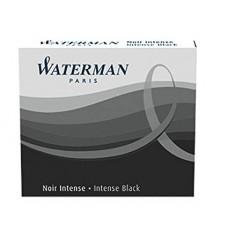 Waterman Mini Cartridge Fountain Pen Refill, Black