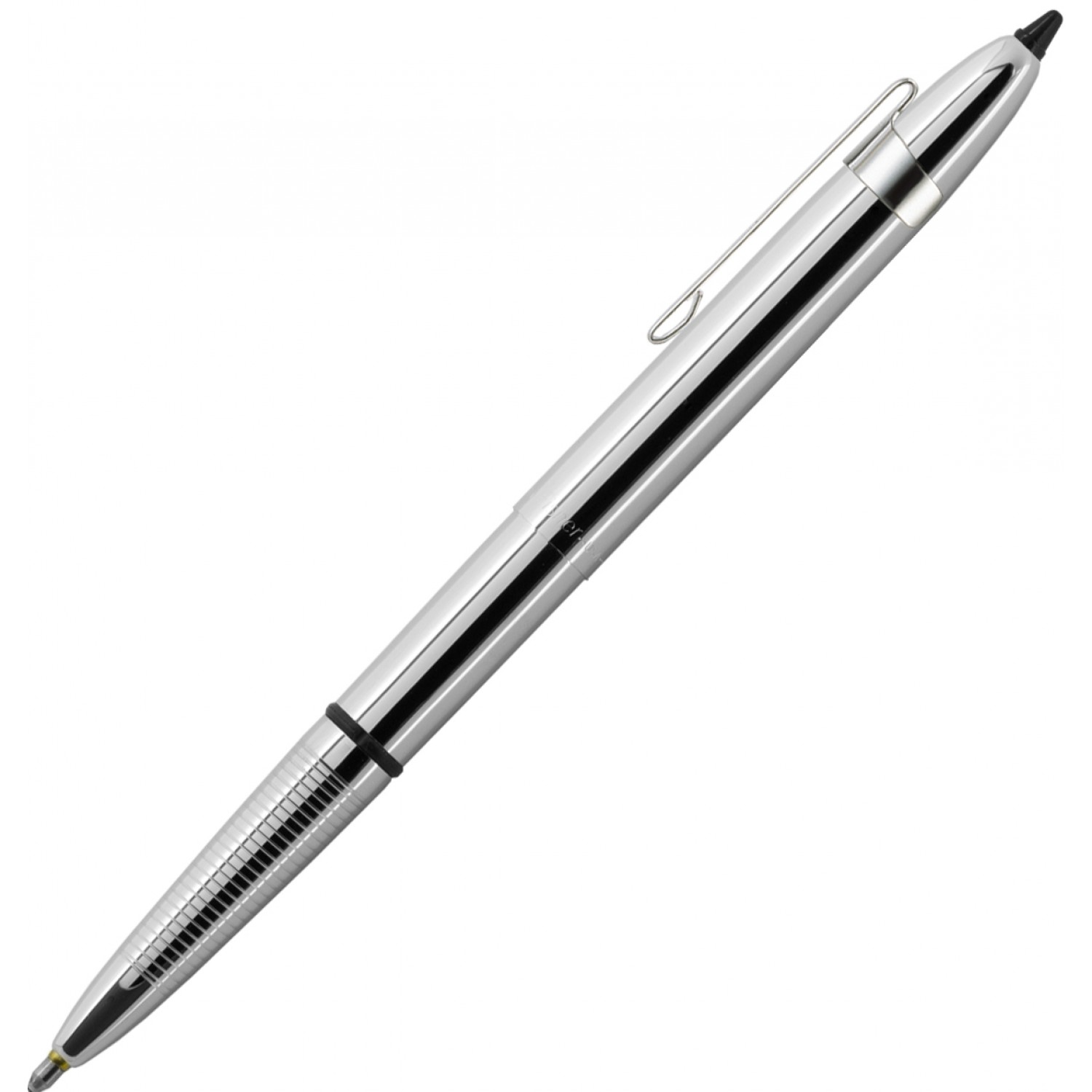 Fisher Chrome Bullet Space Pen with clip and stylus