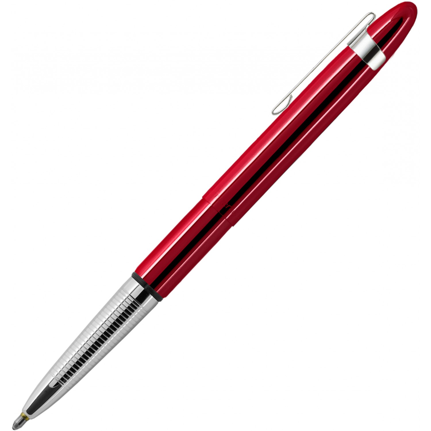 Fisher Bullet Space Pen, Red Cherry w/ Clip