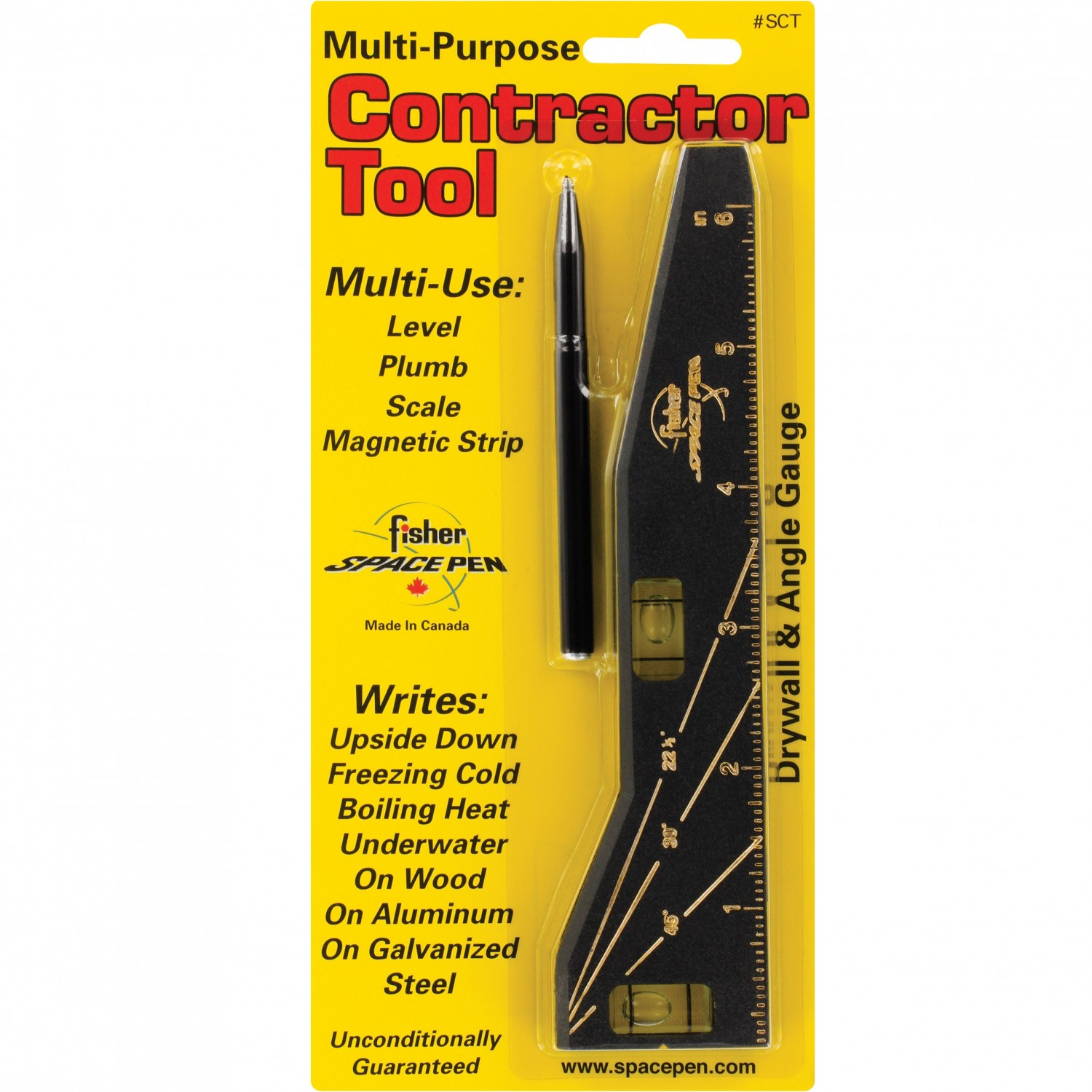 Fisher Contractor Space Pen Tool