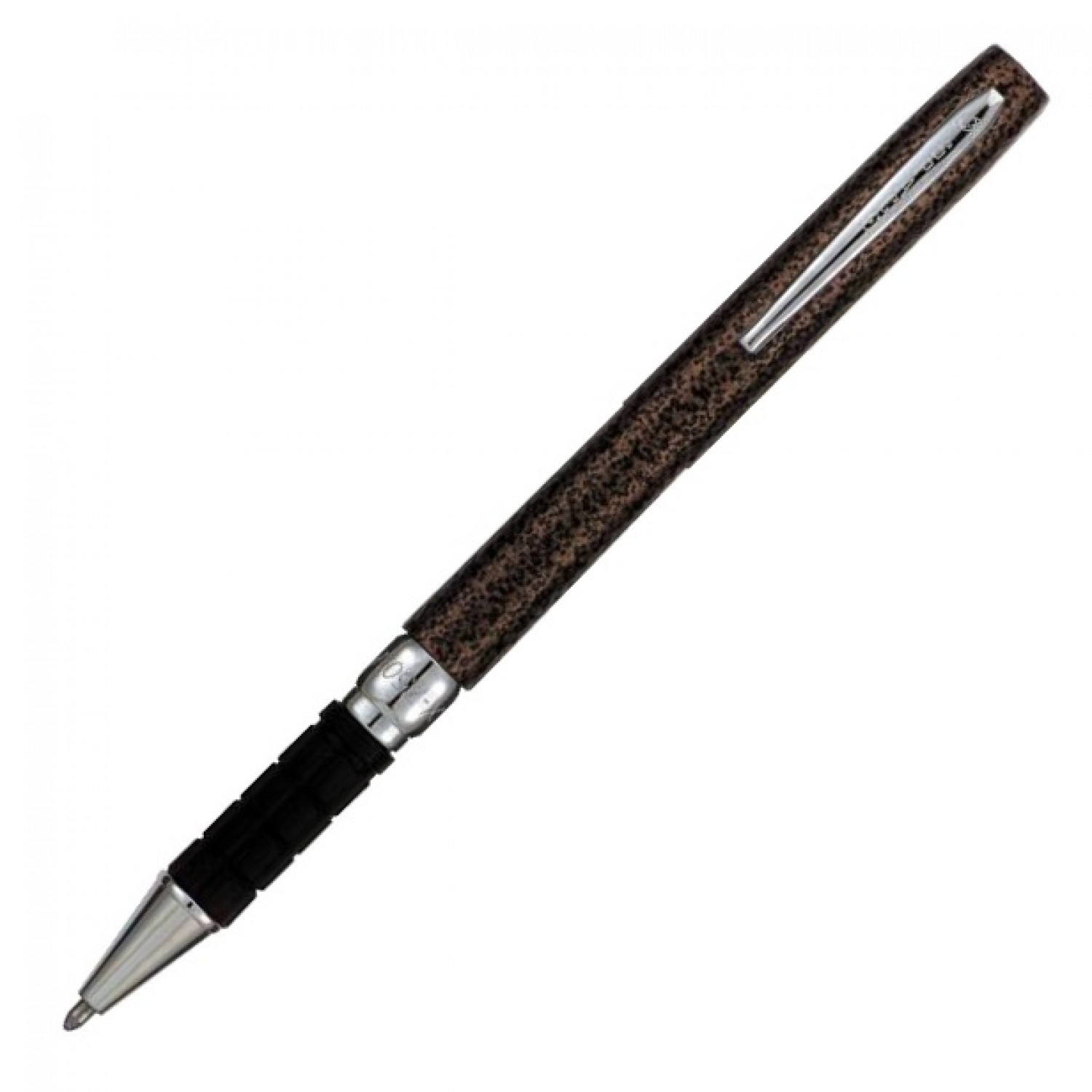 Fisher Space Pen w/ Rubber Finger Grip Copper Vein