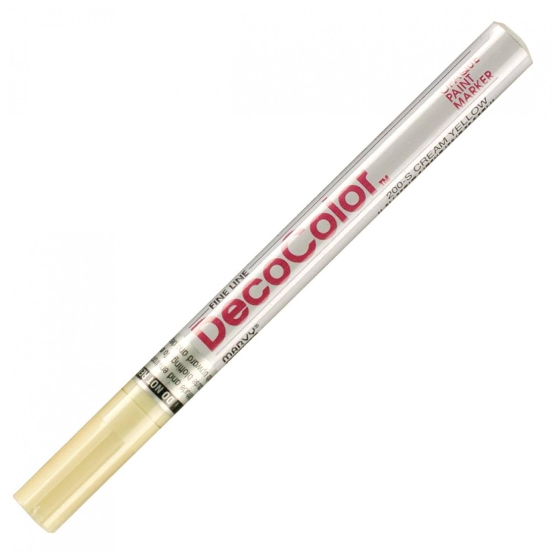 Marvy Deco Color Marker 200 Cream Yellow