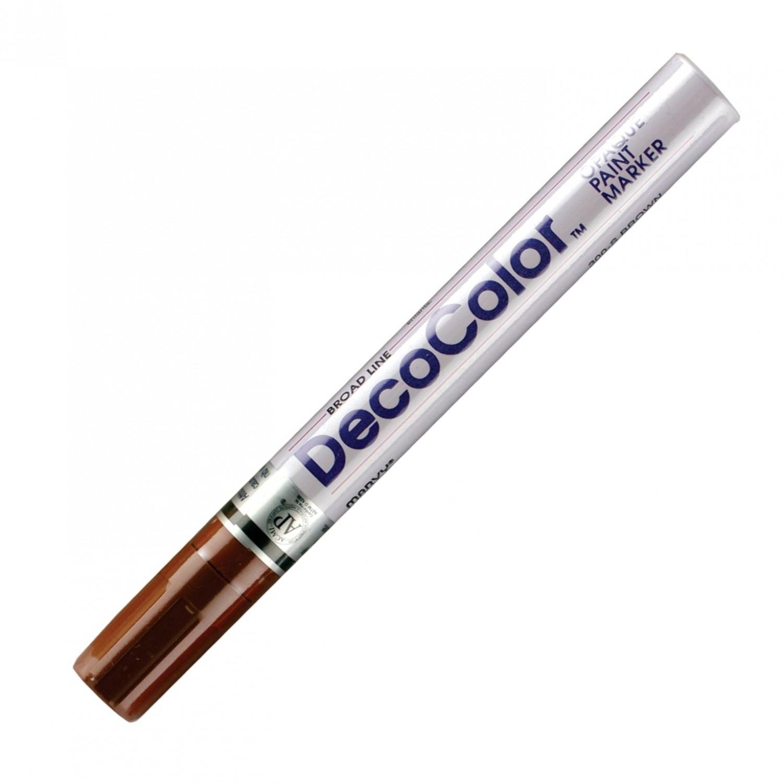 Marvy Deco Color Marker 300 Brown