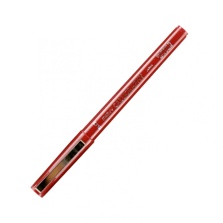 Marvy Calligraphy Pen, 5.0, Burgundy