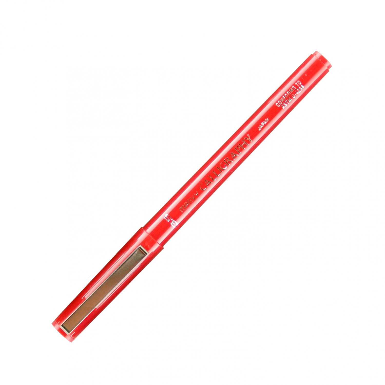 Marvy Calligraphy Pen, 3.5, Red