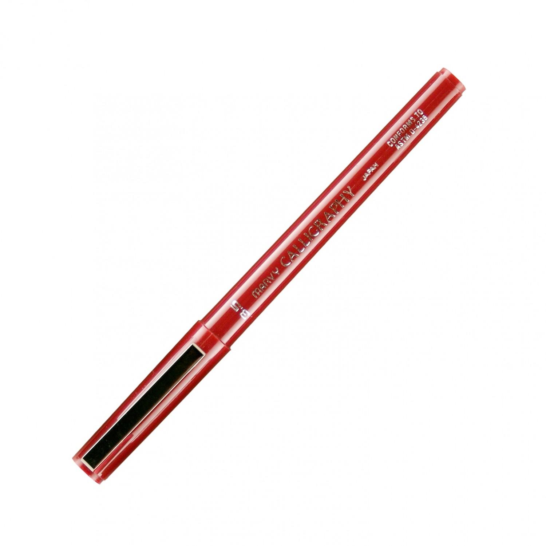 Marvy Calligraphy Pen, 3.5, Burgundy