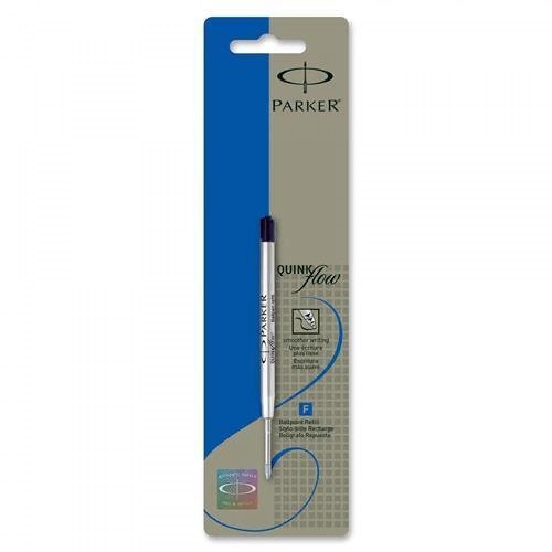 Parker Ballpoint Blue Refills, 0.5mm Fine