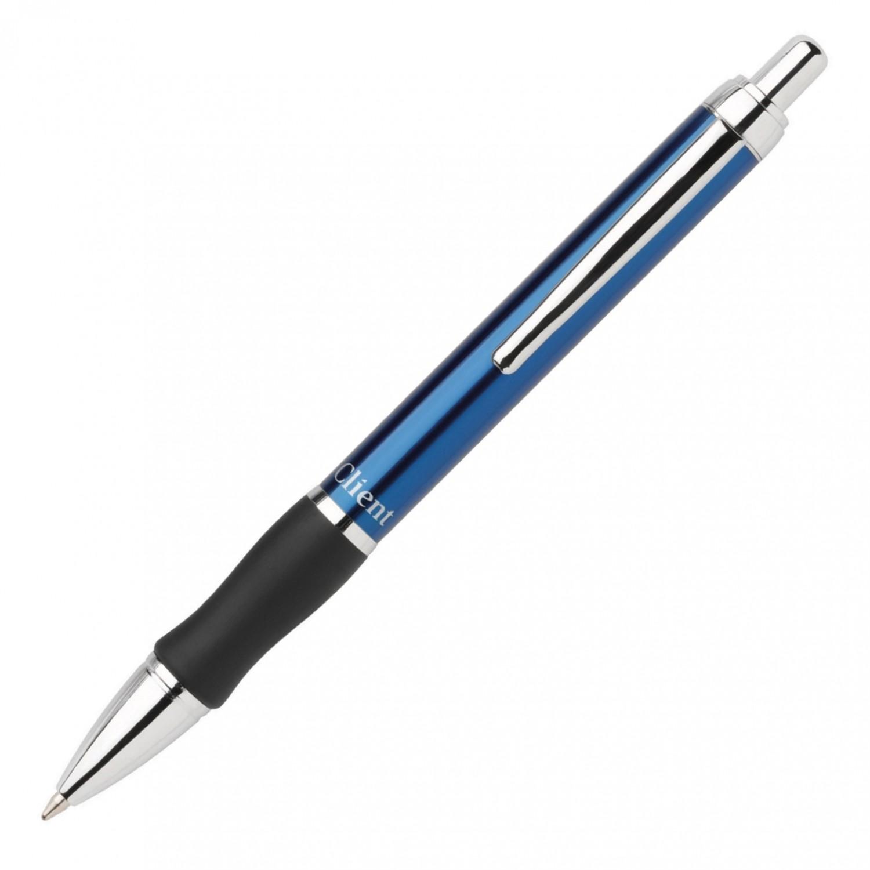 Pentel Client Retractable Med, Blue