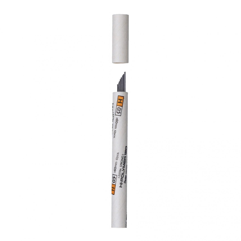 Pentel Premium Hi-Polymer 0.5mm Fine Lead 12/pk