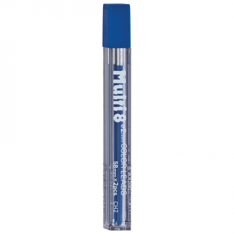 Pentel Multi 8 Color Leads, 2mm Blue